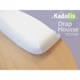 Drap Housse Kadolis 60 x 120 cm blanc