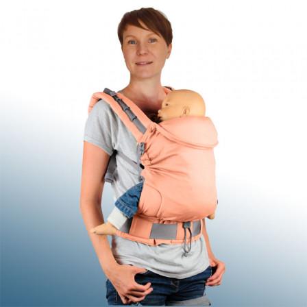 Porte-bébé P4 LLA Abricot