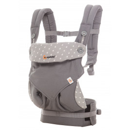 Ergobaby 360 Baby Carrier All Positions Dewy grey
