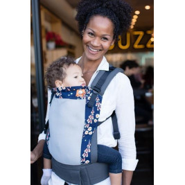 Baby carrier TULA Standard Coast Foxgloves Micro-ventilated