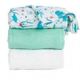 Blanket lot of 3 maxi-langes Tula Naida