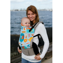 Message in a Bottle tula baby carrier