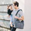 Diaper bag Ergobaby Walk in the Park Grey