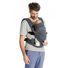 Baby carrier physiological Babylonia Flexia Deep Grey