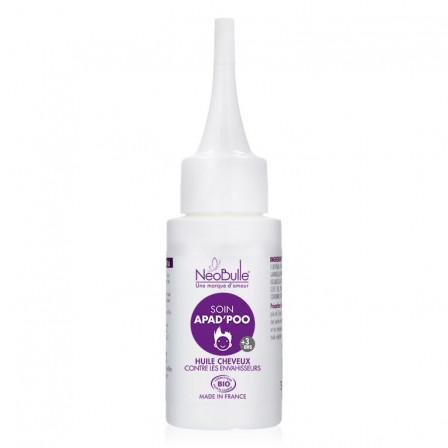 Care Apad'poo oil organic hair Néobulle