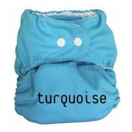 P'tits Dessous So Easy Turquoise, reusable without insert