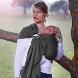 Néobulle My Sling jersey Vert - Écharpe de Portage Sling