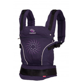 Baby carrier Manduca Pure Cotton Purple Darts