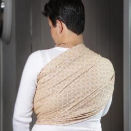 Néobulle Néo'Sling Mandala Sable - Écharpe de Portage Sling