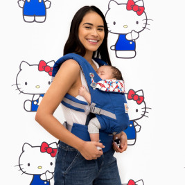 Ergobaby Adapt Hello Kitty Blue Clasic