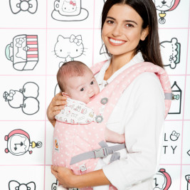 Ergobaby Adapt Hello Kitty Rose Play time