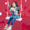 Door-Doll Ergobaby Hello Kitty Blue Classic