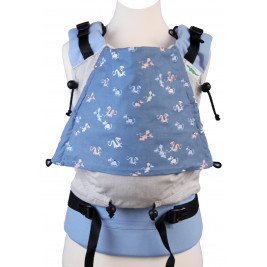 Buzzidil Baby carrier Standard Monochrome Elephants