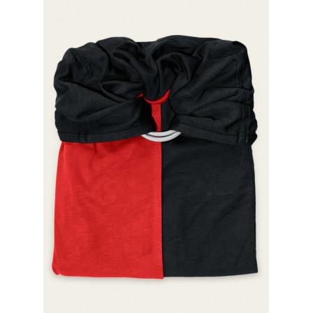 JPMBB Little no-tie Wrap Scarlet Red - Black