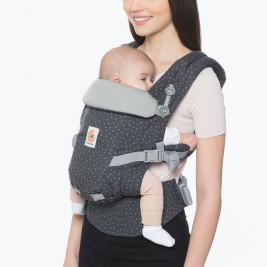 Ergobaby Adapt Gris Etoilé - Porte-bébé Évolutif