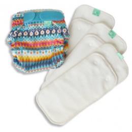 Tots bots Test cloth diapers kit Peenut