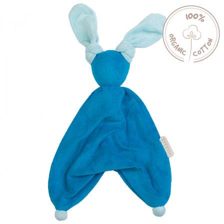 Peppa Floppy Babylonia Blanket Organic Cotton blue