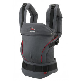 Manduca Baby carrier Grey black
