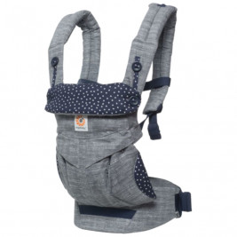 Ergobaby 360 Grey Blue Night Starry