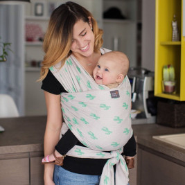 Love And Carry Stretchy Baby Wrap Cactus