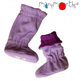 Manymonths slippers portage merino wool/ polar Lotus Purple/ Pink