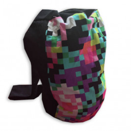 Naturiou storage bag for baby carrier Pixel