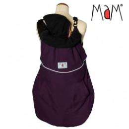 Mam 4 saisons Deluxe Flex Cover couverture de portage Grape/ Black