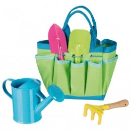 Outils de jardin avec sac
