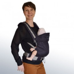 LLA Baby carrier P4 Babysize Plum