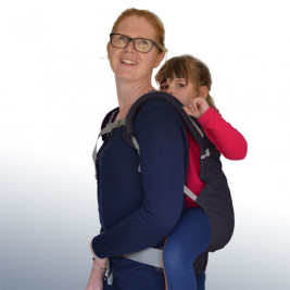 LLA Baby carrier P4 Preschool Plum