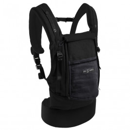 Love Radius (JPMBB) Pack Bundle PhysioCarrier Coton Noir Poche Anthracite
