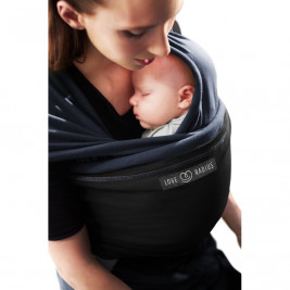 The original JPMBB Baby Wrap Night Blue, pocket Black