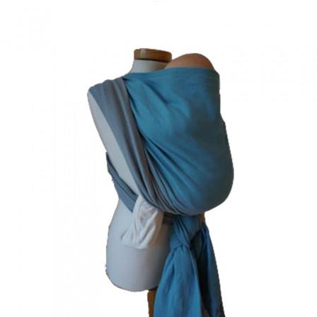 Storchenwiege Leo Turquoise/Grey - Baby Carrier