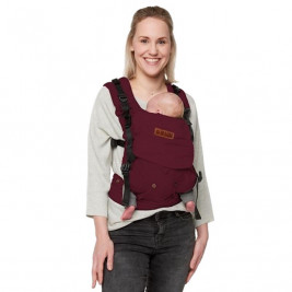 Bykay 4 Way Click carrier Berry Red - baby carrier