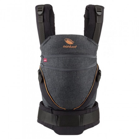 Manduca XT Grey White - baby carriers-Scalable