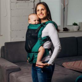Lennylamb LennyUpGrade Standard Basic Line Emerald - Porte-bébé aéré