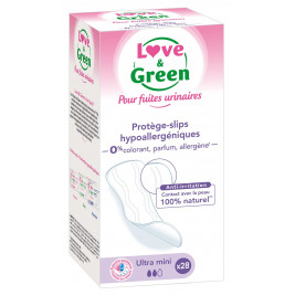 Love and Green protects-briefs Incontinence Hypoallergenic x28