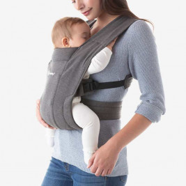 Ergobaby Embrace Grey Mouse - Door-New born baby