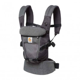Ergobaby Adapt Cool Air Mesh Heather Grey - baby carriers-Scalable