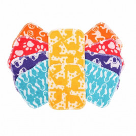 Totsbots Washable Cloths Bamboo Printed