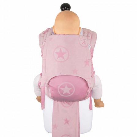Fidella Fly Tai Outer Space bonbon rose taille bambin - Porte-bébé Meï-taï