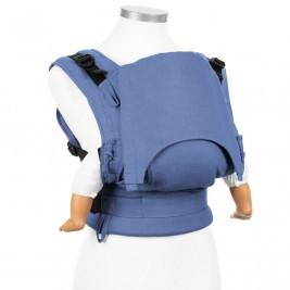 Fidella Fusion Chevron bleu clair (Taille Bébé) - Porte-bébé