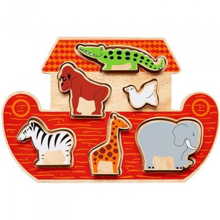 Lanka Kade Arche de Noé à forme - Jouet en bois