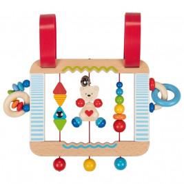 Heimess Tableau d'activités pour bébé ourson petit coeur