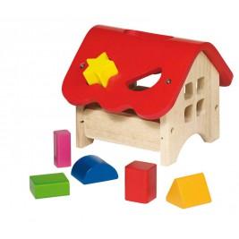 Boite à formes, maison en bois par Goki
