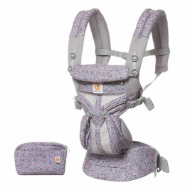 Ergobaby Omni 360 Cool Air Mesh Camouflage Purple - baby-carrier Expandable 4 Positions