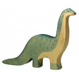 Brontosaure en bois Holztiger