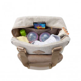 Ergobaby Take Along Backpack Change Bag Linen