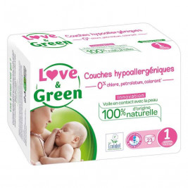 Love and Green Kit Naissance Hypoallergénique