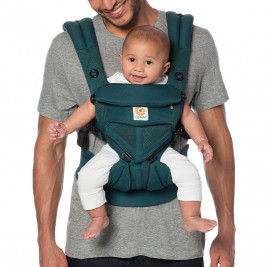 Ergobaby Omni 360 Cool Air Mesh Emerald Green - baby-carrier Expandable 4 Positions